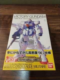 MG Victory Gundam Ver. KA w/ special clear Armor parts