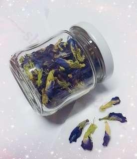 蓝花(蝶豆花) organic dried butterfly pea flower