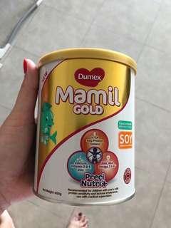 Dumex Mamil Gold soy 1 yo onwards