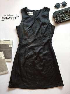 Dress Satin Black