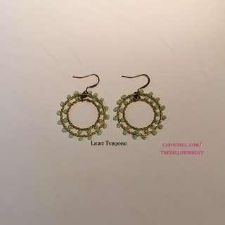 Dual Circle Hook Earrings