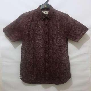 Kemeja Paisley Salt n Pepper not Fred Perry Dickies