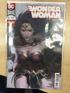 Woman Woman #51 Artgerm Variant Stanley Lau by DC Comics - Near Mint & Never Been Read Before