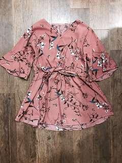 Floral blouse/ Dress