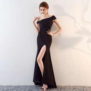 🚚 Slim fit elegant evening dress female