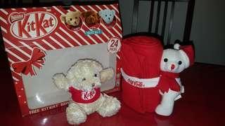 Kit Kat Bear with Fleece Towel
