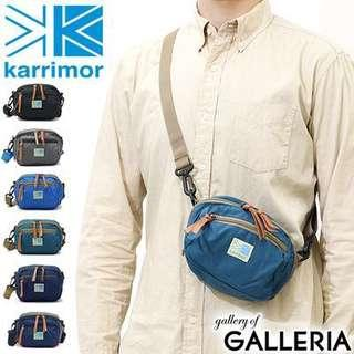 Karrimor sling pouch / bag - dark blue