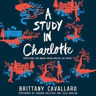 CHARLOTTE HOLMES SERIES BY BRITTANY CAVALLARO AUDIOBOOKS