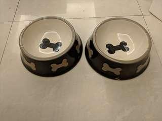 陶瓷 貓狗碗 Porcelain Dog Bowl