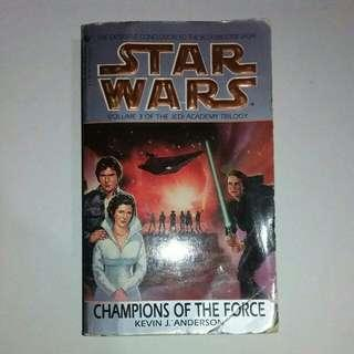 Star Wars: Champions of The Force by Kevin J. Anderson