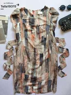 Dress Peach with Pockets