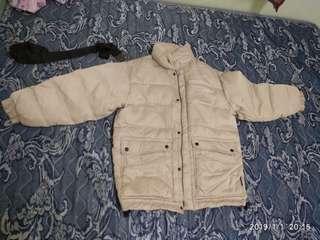 Snowwhite Puffer Winter Jacket+FREE GIFT