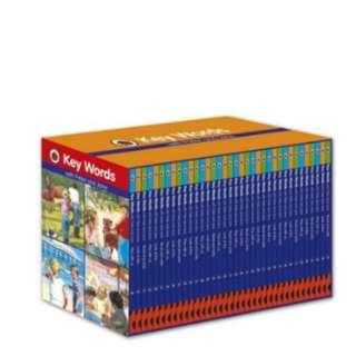 Ladybird Keywords with Peter and Jane Collection Book Set (36 Books Box Set)