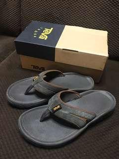 Teva slippers Katavi 2 Thong (Men) - Black Olive