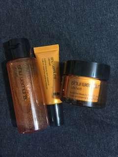 Shu Uemura skin care (toner/ serum/ lotion)
