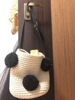 Pom Pom shoulder bag