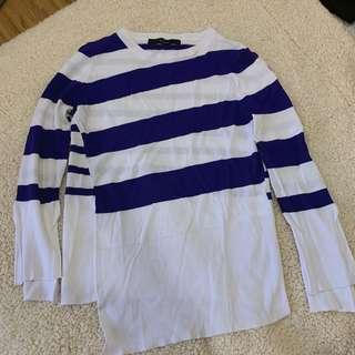🚚 Vivace 義大利條紋設計款針織毛衣