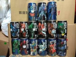 罕有 百事可樂 pepsi  日版 Gundam 汽水罐一set(有水只得一套平賣$680)