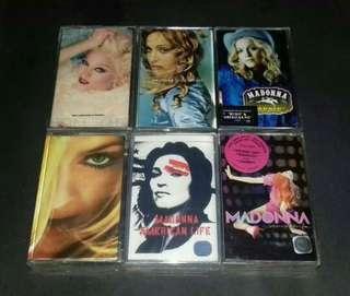 Cassette Tapes MADONNA