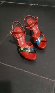 Everbest sepatu merah maroon