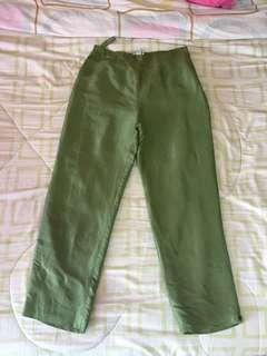 HW silk trousers