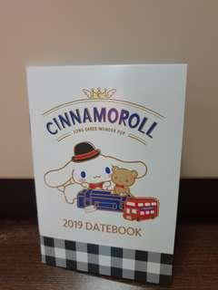 Cinnamoroll 2019 DateBook