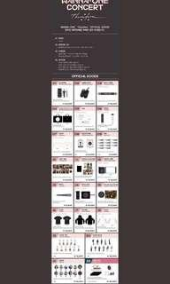 [ GO ] wannaone therefore official goods