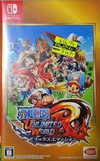 🚚 One Piece Unlimited World Red