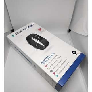 BNIB Fitbit Charge 2 - Black XL Xtra Large Size