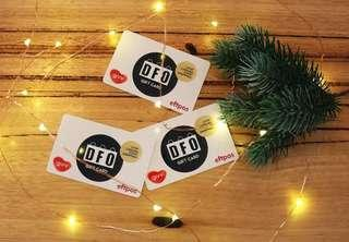 DFO $20 gift card for $10 only!
