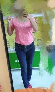 F&X pink top