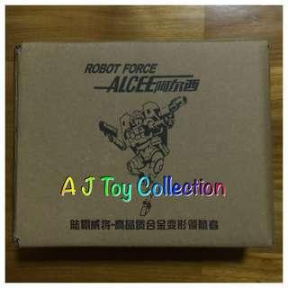 [ In Stock ] Transformers Weijiang RC Arcee KO