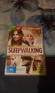 Sleepwalking DVD. Ex-Rental