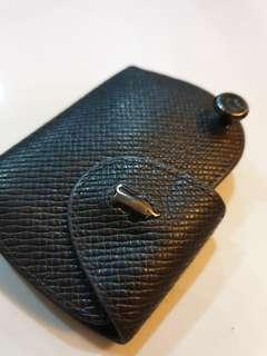 Braun Buffel Leather Car Key Holder Pouch
