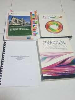 Singapore company Law 2464 , business statistic  ECON 1035, financial accounting ACCT 2062 , accounting ACCT2060
