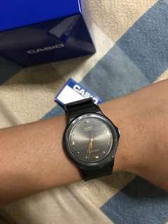 🚚 Casio Black Analog Watch