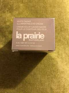La Prairie white caviar illuminating eye cream 3ml