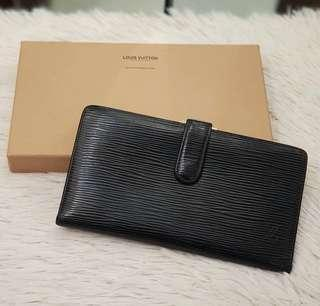 Louis Vuitton LV kisslock wallet