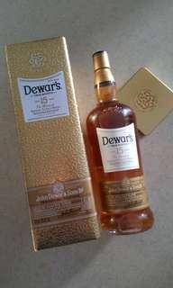 Dewar's Blended Scotch Whisky (Aged 15 Years) 1litre