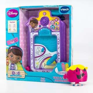 🚚 ~Ready Stocked~ Vtech Doc McStuffins Talk and Trace write Clipboard