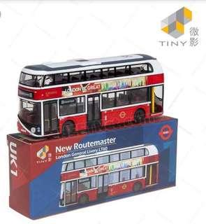 【超低價65】Tiny London bus
