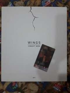 (WTS) BTS WINGS CONCEPT BOOK