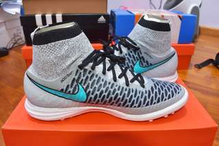 4c1445c45e5d Nike MagistaX Proximo TF - Wolf Grey Turquoise BL - Black - Wolf Grey