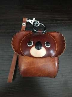 Real Leather Coin Pouch