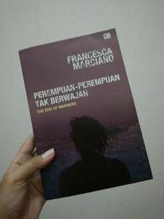 Francesca Marciano: Perempuan-perempuan tak berwajah, (Novel)