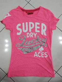 Authentic superdry tee