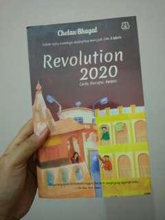 Chetan Bhagat: Revolusi 2020, Novel