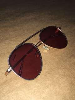 Lukas by Sunnies Sunglasses (Pink Tint)