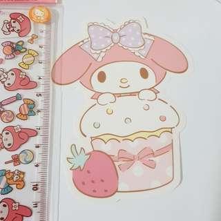 C. Sanrio Original My Melody Decoration Sticker