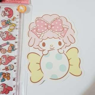 E. Sanrio Original Sweet Piano from My Melody Decoration Sticker